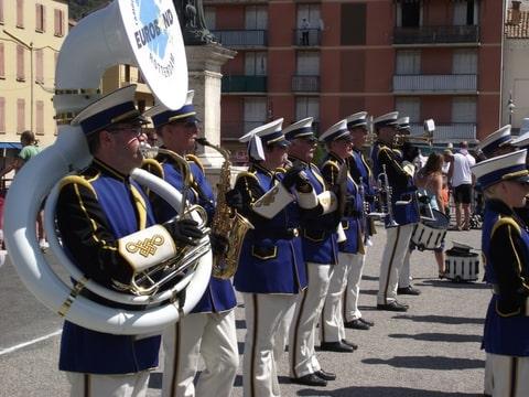 Digne les Bains 2012 Show- & Marchingband