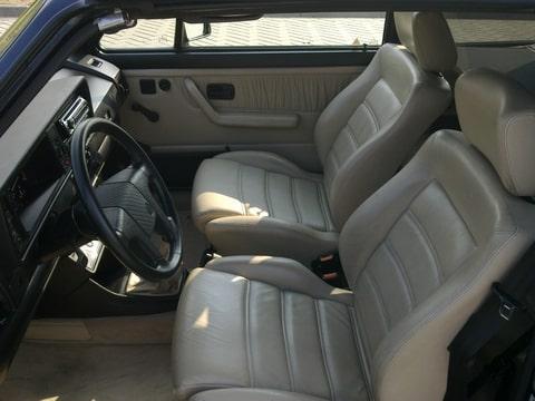 Golf 1 cabrio classic line interieur golfc brio com for Golf 8 interieur