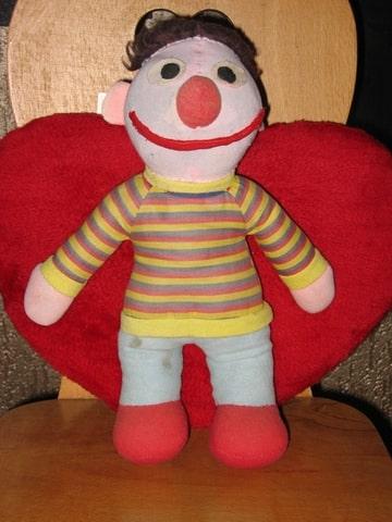 Ernie na de facelift