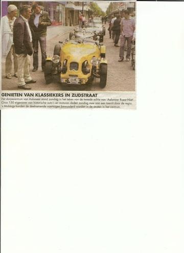 Aalsmeer roest niet 21 jun i 2009. Foto-XTAGIFI6