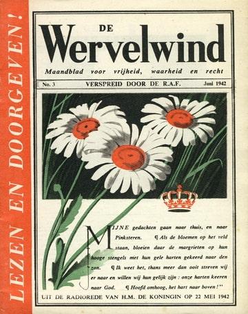 De Wervelwind nummer 3 uit de tweede wereldoorlog wo2