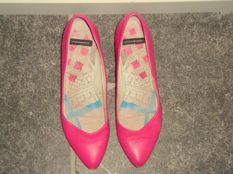 Art schoenen verven - Hoe roze verf ...