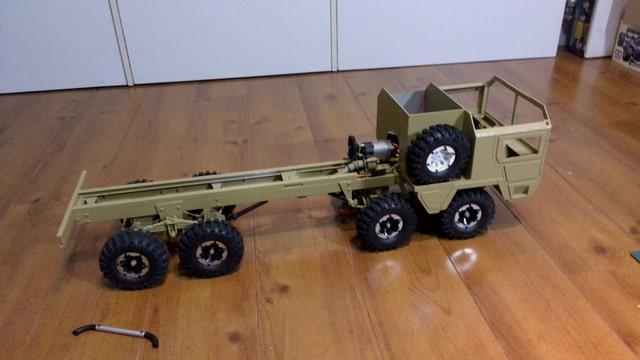 build - MAN KAT 1 8X8 scratch build with tlt axles Foto-OK78O3DP-D
