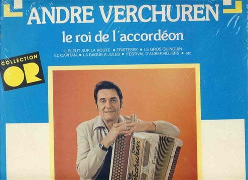Album Le roi de l accordeon de Andre Verchuren sur CDandLP
