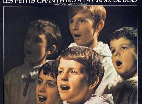LES PETITS CHANTEURS A LA CROIX DE BOIS - Chantent Noel: Douce nuit /  Jingle bells / O come all ye taithfull et 9 autres titres - LP