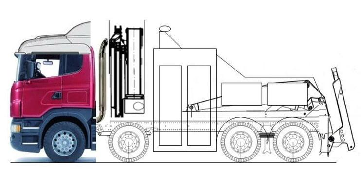 man tgx service truck mit kran wie st tzen machen. Black Bedroom Furniture Sets. Home Design Ideas