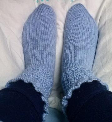 sokken breien teen eerst hiel