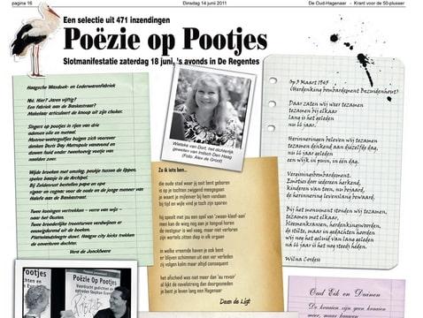 Poëzie op Pootjes De Oud-Hagenaar
