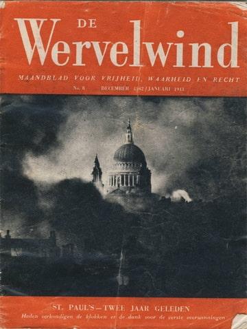 De wervelwind nummer 8 pamflet uit de tweede wereldoorlog wo2 ww2
