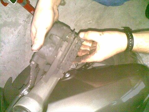 Front axle wont come out. Foto-KKWCX8CU-D