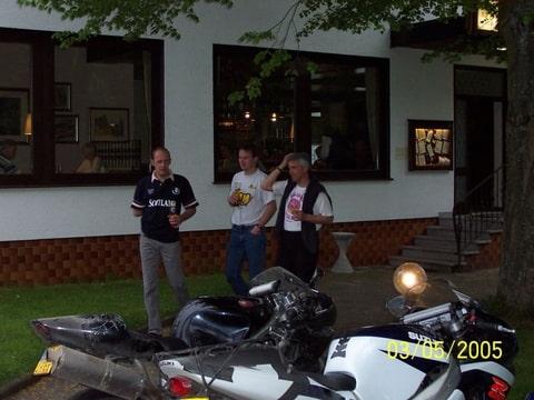Jurgen, Peter en Frans na 5 minuten....