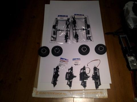build - MAN KAT 1 8X8 scratch build with tlt axles Foto-SWHAADXS-D