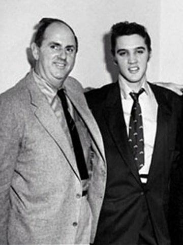 De Colonel & Elvis op 21 november 1955