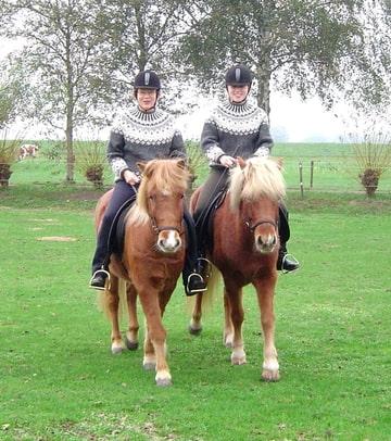 Een matching setje! Brigitta en Lípur en dochter Rosan met Löstur!