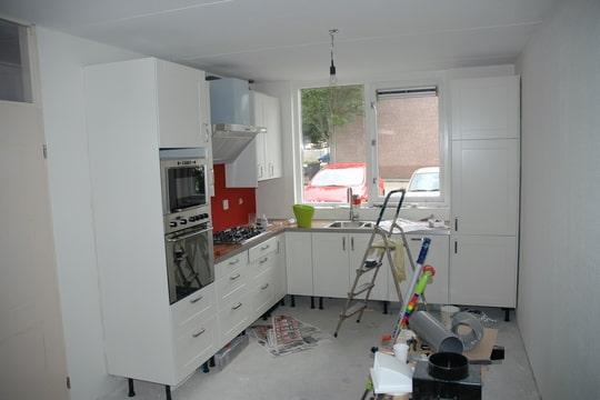 Achterwand Witte Hoogglans Keuken : Originele achterwand in de keuken? ? Bokt.nl