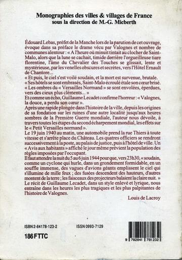 Valognes. Le Versailles Normand aux heures tragiques. G.L Photo-ZD37EMUB-D