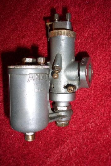 Amal carburettor - BSA m20 1939 - 1945