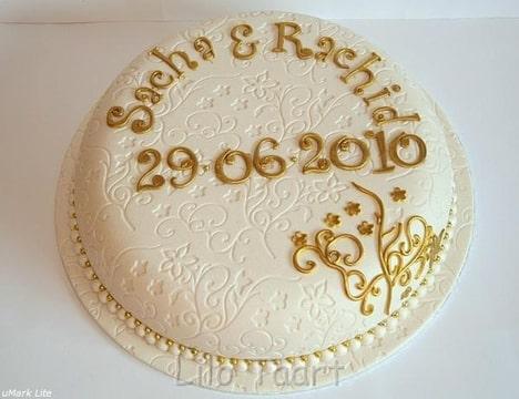 eenlaags taart