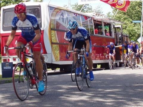 sprint na de start