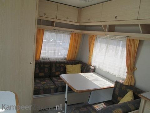 vouwwagen met vaste keuken