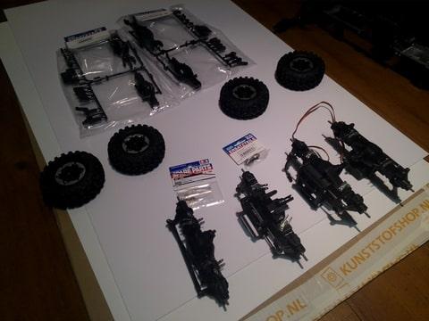 build - MAN KAT 1 8X8 scratch build with tlt axles Foto-RHTD3V4U-D