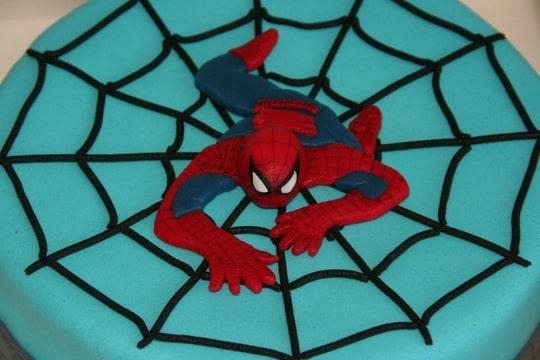 Bekend Tyler helemaal blij met: Spiderman! (Pagina 1) - Taarten Parade #YV85