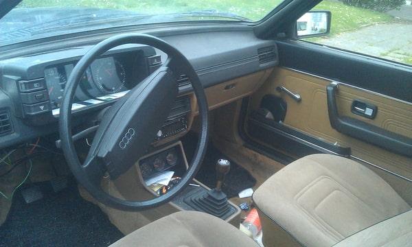 Audi 80 gls b2 1980 in onderdelen for Audi interieur onderdelen