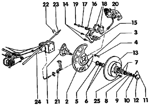 De reis met de auto: Golf 2 remblokken vervangen gti