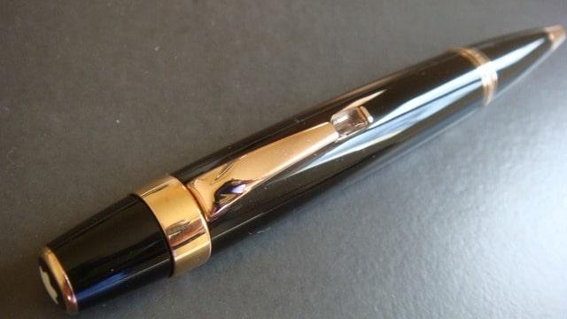 stylo bille montblanc boheme marron or prix 365 ebay