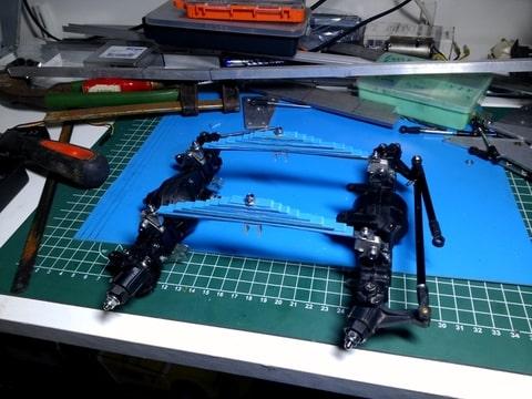 build - MAN KAT 1 8X8 scratch build with tlt axles Foto-XWCHPBLP-D