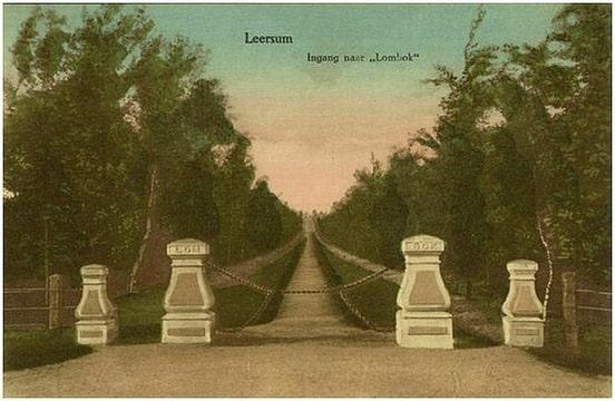lomboklaan begin 20e eeuw