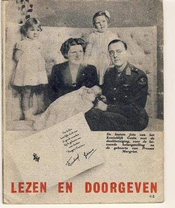 De Wervelwind uit de tweede wereldoorlog wo2 pamflet