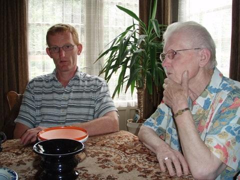 Oma Geerts en ome Jos