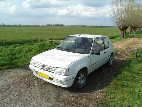 Peugeot 205 Rallye 1.9 1990 P0WT | Klik voor details