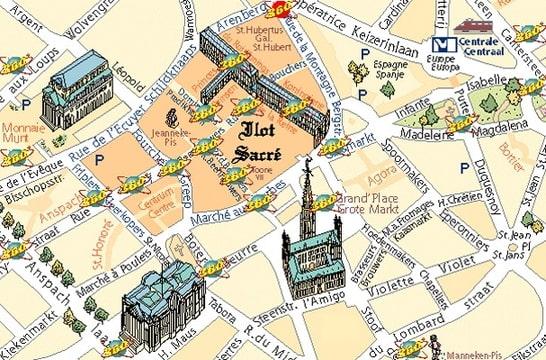 Links onderaan het Beursgebouw aan de Mausstraat en rechtsonderaan ...: blog.seniorennet.be/princess/archief.php?startdatum=1192399200...