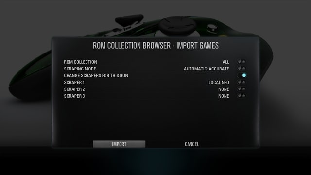 Rom Collection Browser Config File Location