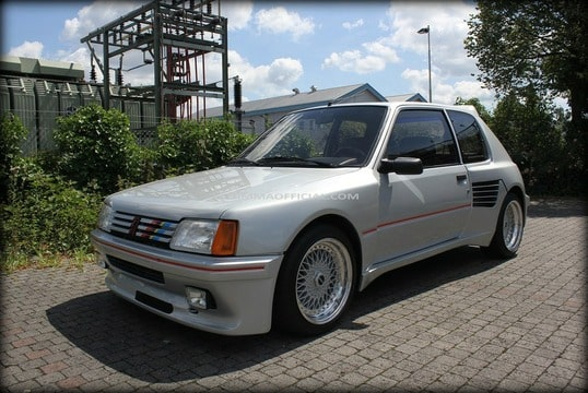 peugeot 205 gti 1 9 supercharged dimma num rot e les fran aises youngtimers forum collections. Black Bedroom Furniture Sets. Home Design Ideas
