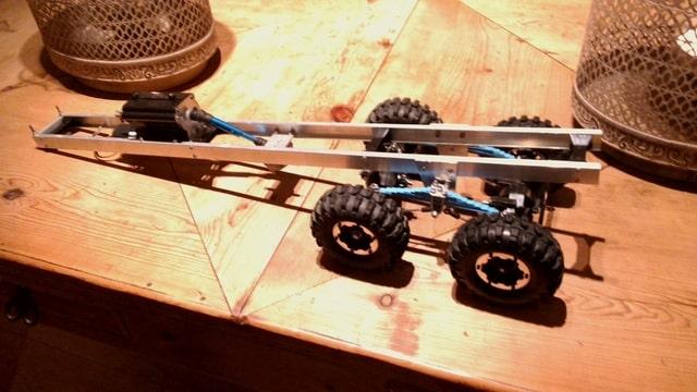 build - MAN KAT 1 8X8 scratch build with tlt axles Foto-NMGHJJII-D
