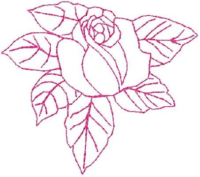 Roos eenkleur