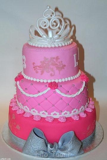 Roze met kroontje