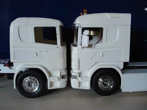 Scania 6x4 trekker - Een ster in mijn cabine ...