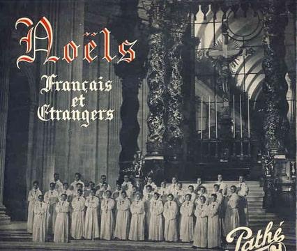 LES PETITS CHANTEURS À LA CROIX DE BOIS - Proche VG++: Noel du 18eme siecle / Stille Natch / O come all ye faitheul ETC… - 10 inch