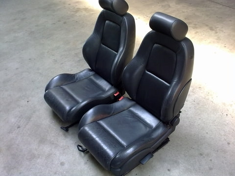 Audi tt interieur zwart leder for Audi interieur onderdelen