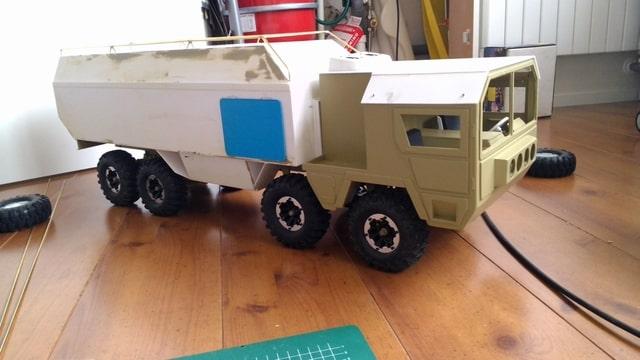 build - MAN KAT 1 8X8 scratch build with tlt axles Foto-YT6IPBPL-D