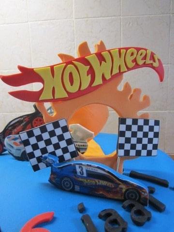 Beroemd Hot Wheels Taart @BJT13 - AgnesWaMu &AE92