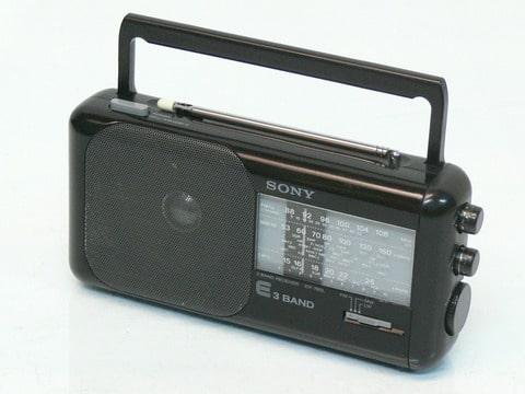 sony icf 760l poste radio portable fm po go 3 band. Black Bedroom Furniture Sets. Home Design Ideas