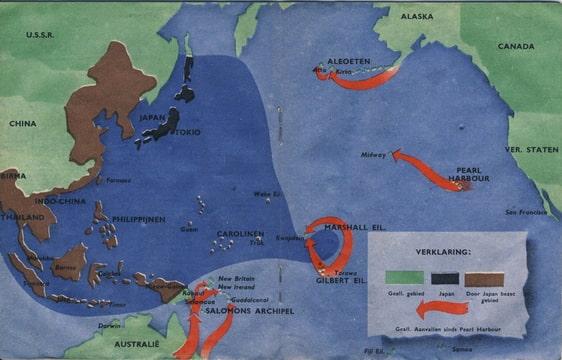 Wervelwind nummer 19 uit de tweede wereldoorlog wo2 ww2 Indonesie Montgomery