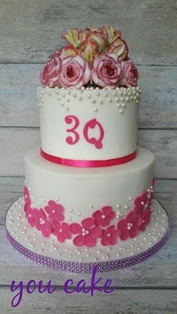Nieuw stapeltaart voor 30 jarig huwelijk van mijn ouders (Pagina 1 YW-44