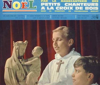 LES PETITS CHANTEURS À LA CROIX DE BOIS MONSEIGNEU - Les anges dans nos campagnes  / Voici la Noel / Marche des rois / Noel des iles… - 10 inch