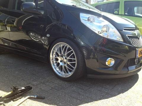 Opel Meriva Chevrolet Spark Werk Gebeuren Pagina